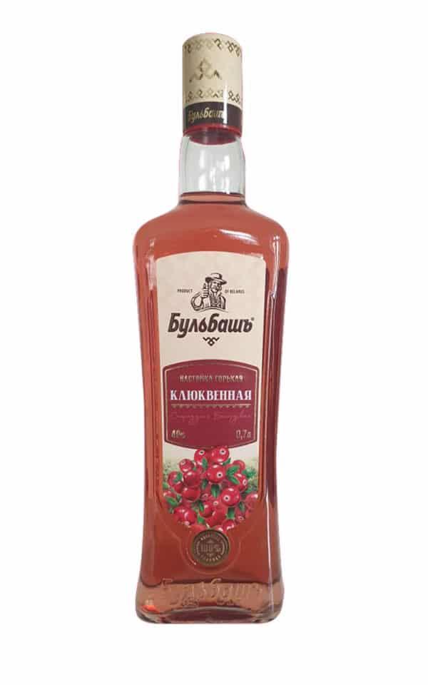 Bulbash Klugwennaja 0,7 l Wodka Moosbeere 2020