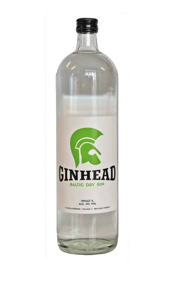 Ginhead dry Gin-thetankcompany.de