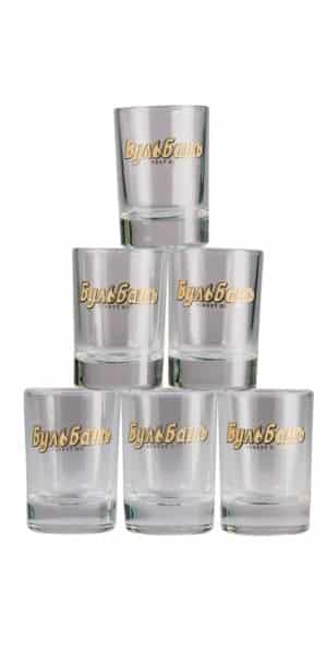 Bulbash Wodkagläser 4-cl-_6-Stück