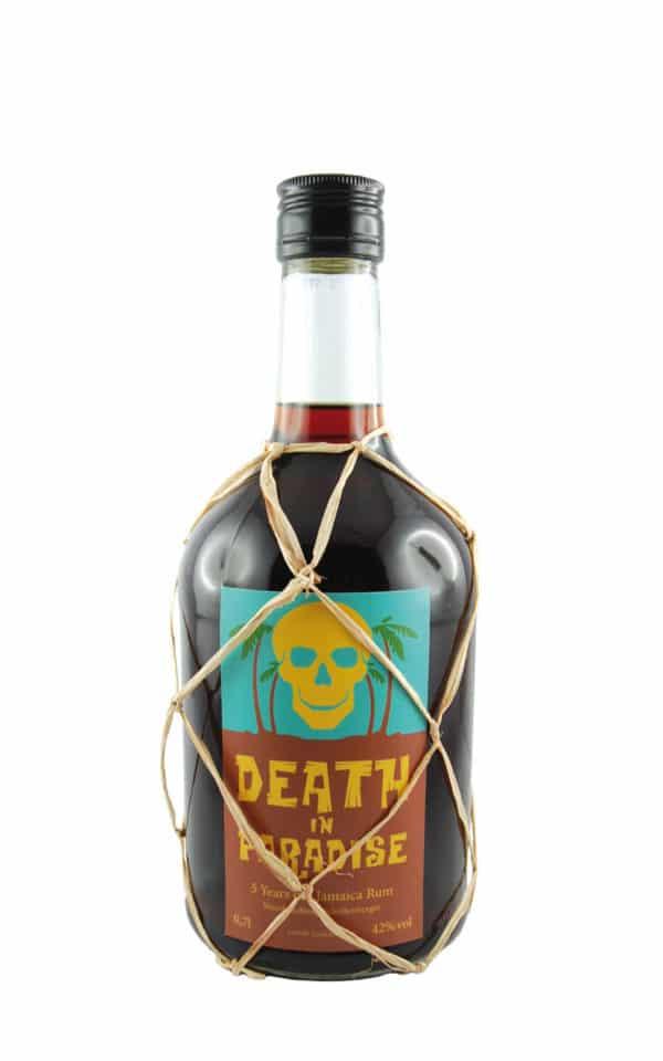 Death In Paradise Rum - 5 Jahre-alter-Rum-thetankcompany.de