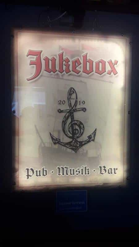 Leuchtschild Jukebox Frankenberg