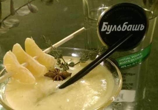 Schnapsbar - St. Mandarin mit Bulbash Osobaja Birkenblättchen Wodka by Schmo