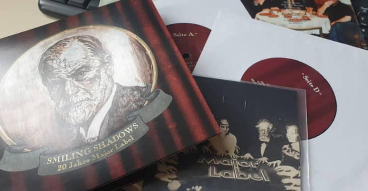 Smiling Shadows 7inch LP zum 20 jährigen Jubiläum des Major Labels
