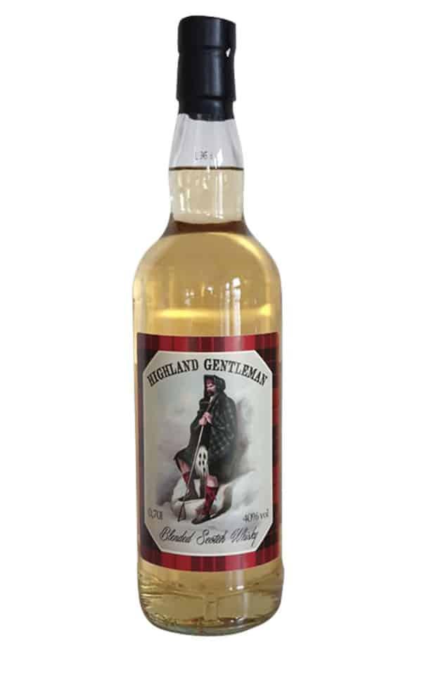 Highland Gentleman -Blended-Scotch-Whisky-40-Vol-%-thetankcompany-de