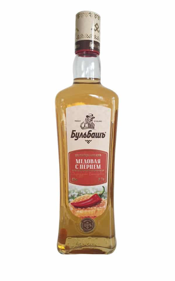 Bulbash Wodka mit Chili und Honig