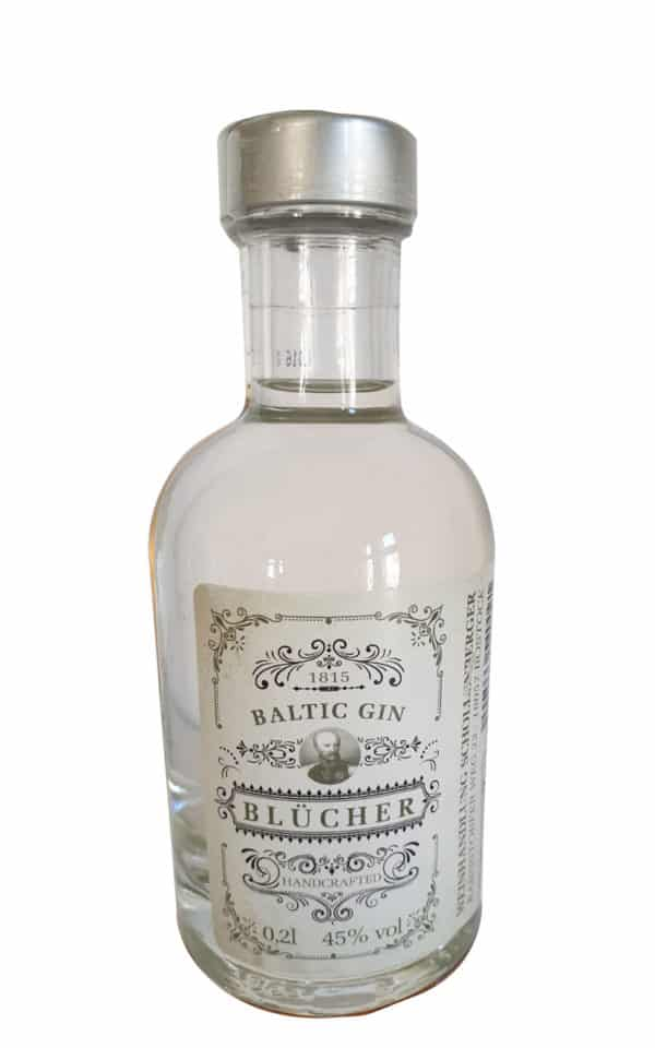 Blücher Gin als 0,2l Mini-Tank