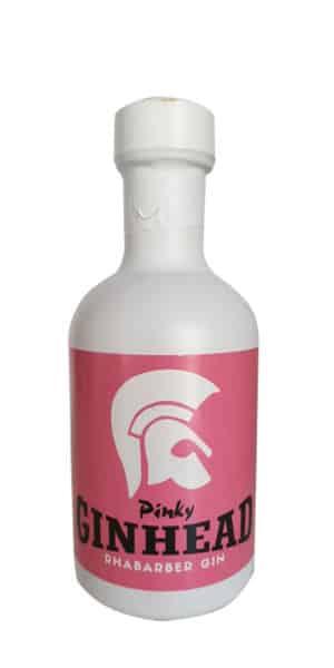Ginhead Pinky Rhabarber Gin als 0,2l Mini-Tank