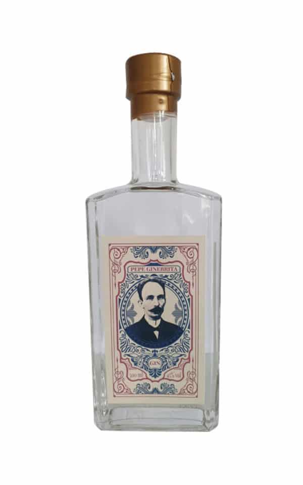 Pepe Ginebrita Gin aus Cuba mit 45 Vol. %